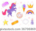 funny fashion stickers kit 36706869