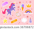 funny fashion stickers kit 36706872