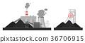 煤炭 工厂 插图 36706915