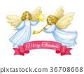 Christmas greeting card. 36708668