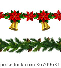 christmas, decoration, vector 36709631