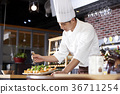 飯廳 餐廳 廚師 36711254