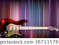 background electric guitar 36711576