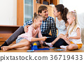 Family play at lotto game 36719433