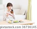 อาหารเช้า 36736145