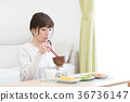 อาหารเช้า 36736147