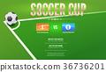足球 杯子 杯 36736201