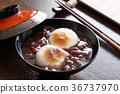 年糕甜赤豆湯 甜點 甜食 36737970