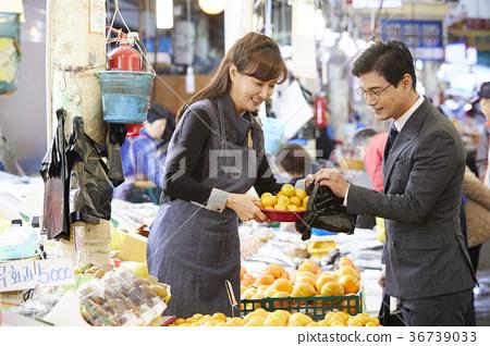 비즈니스맨,상인,시장,장보기 36739033