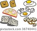 脆皮豆腐 荷包蛋 和果子 36740441