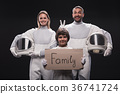 family, spaceman, astronaut 36741724