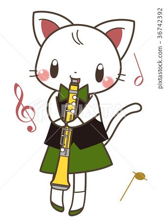 貓和雙簧管 36742392