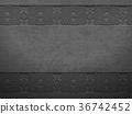 Vector grunge rough dark metal background 36742452