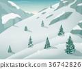tree, winter, snow 36742826