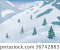 tree, winter, snow 36742863