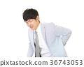 商人抱怨腰痛 36743053