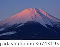 야마나카 코에서 붉은 후지 36743195