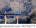 chichibu, railway, bridge 36746275