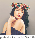 woman beautiful glamour 36747736