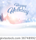winter, landscape, forest 36748992