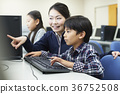 초등학생, 컴퓨터, 컴퓨터 교실 36752508