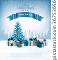 background, box, christmas 36753656
