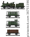locomotive, train, vintage 36755396