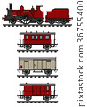 locomotive, train, vintage 36755400