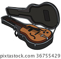 guitar, case, instrument 36755429