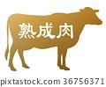 牛肉 奶牛 牲口 36756371