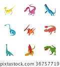 dinosaur, icons, animal 36757719