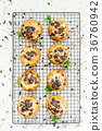 Chocolate chip muffin 36760942