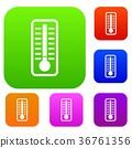温度计 图标 矢量 36761356
