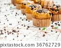 Chocolate chip muffin 36762729