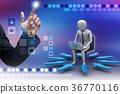3d, laptop, pc 36770116