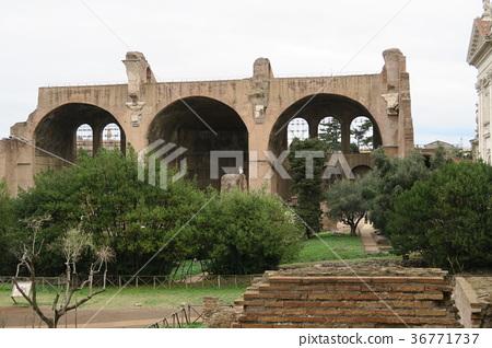 세계 유산 포로 로마노 막센티우스의 바실리카 36771737