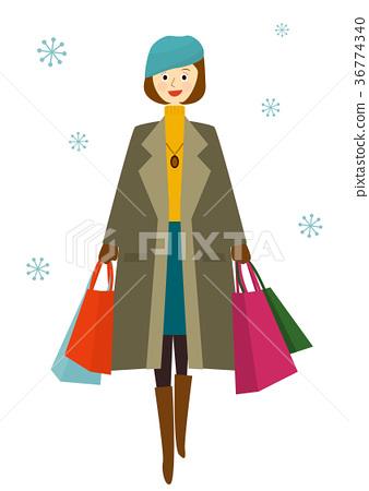 Winter shopping 36774340
