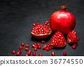 石榴 水果 红色 36774550