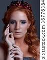 肖像 女性 年轻 36776384