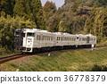 火車 電氣列車 特快 36778379