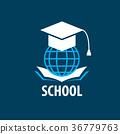 vector logo School 36779763