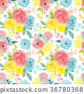 floral, flower, bloom 36780368