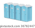 Portable plastic toilets 36782447