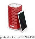 Smart speaker and smartphone 36782450