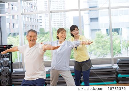 健身房 瑜伽 瑜珈 36785376