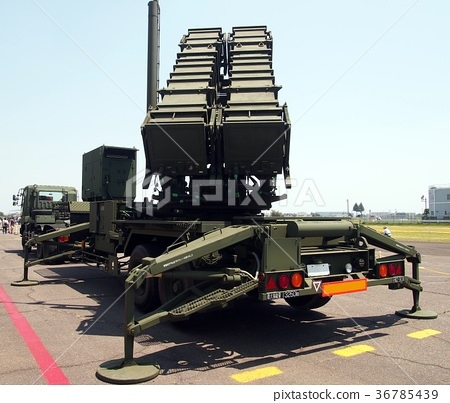 Patriot missile launcher (PAC3) - Stock Photo [36785439] - PIXTA