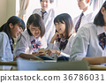 학생 - 쉬는 시간 - 담소 36786031