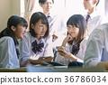 학생 - 쉬는 시간 - 담소 36786034