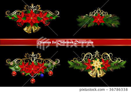 Christmas elements for your designs 36786338
