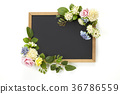 blackboard, flower arrangement, flower arrangements 36786559